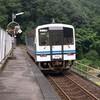 【File:006】三江線にあった「天空の駅」の写真を引っ張り出してみる。