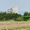 波照間浄水場の高架配水池(沖縄県波照間島)