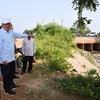 ソーンサイ・シーパンドン副首相:洪水被害を受けカムアン県ナーングブック郡を視察