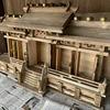 裏庭に祀ってある神棚の修復 -FINAL-