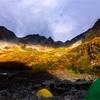 【M16】涸沢で『真っ赤なナナカマドと星空』を撮る。登山