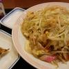 リンガーハット 野菜の日 野菜たっぷり皿うどん(餃子三個セット)