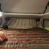 ハイエースキャンピングカーでの車中泊、布団か寝袋か~THEO家の場合~