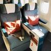 【搭乗記】CA キャセイパシフィック航空 CX531(NGO-TPE) ビジネスクラス 機内食