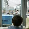 【N3331】電車が見えるカフェで息子大喜び〈秋葉原〉