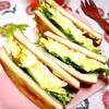 高野豆腐の卵サンドイッチ