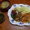 幸運な病のレシピ( 1055 )朝:ポトフの仕立直し味噌汁、牛肉の炒めもの
