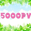 【ブログ初心者】アクセス数5000PV達成しました☆