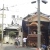 岸和田旧市鳴り物練習見学