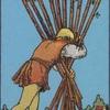 タロットカード:小アルカナ ワンドの10