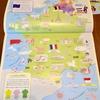【外国の絵本】フランスで買ってきたかわいいヨーロッパのシールブック。