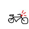 無灯火の自転車と前方赤色灯の自転車、どっちがマシなのか?