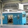 雨の阪堺電車