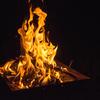 野郎二人の焚き火キャンプ