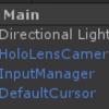 HoloLensでオブジェクトを変倍してみる