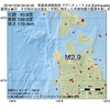 2016年12月30日 00時50分 青森県津軽南部でM2.9の地震