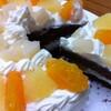 初めて手作りフルーツチョコレートスポンジケーキに挑戦してみたときの体験談と作業工程です