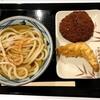 今週の丸亀製麺ランチセット『かしわ天&ハムカツ編』のハナシ