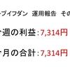 2018年9月第2周目(9/10~9/14)の運用利益報告 第12回【ループイフダン不労所得】