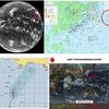 【台風情報】大型で強い台風25号の東には台風26号のたまごが(ハリケーンWALAKA)!米軍の進路予想ではこの台風のたまごは東経180度を越えず、『越境台風』とはならない見込み!!
