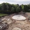 ピート・ダイのゴルフコース改造風景
