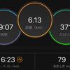 ジョギング6.13km・今日はゆるジョグでちょっとだけ