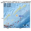 2016年10月07日 07時51分 択捉島付近でM4.0の地震