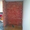☆キッチンを独立させるために壁を作る