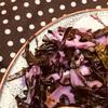 *紫キャベツとレンコンの塩炒め