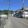 東大阪市の山沿い風景