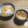 油麺とスープ