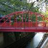 【橋】目黒川の中の橋