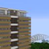 【Minecraft】市役所・マンション一体型施設を建てる① 外装編【コンパクトな街をつくるよ9】