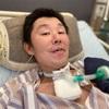 入院29日目、車椅子へ移乗