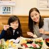 寿司にタラバカニ、築地市場で美味しい時間。