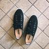 靴難民のレビュー、普段履きにちょうど良い『アサヒのキャンバススニーカーG01』着画とサイズ感