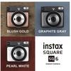 スタイリッシュで多機能なインスタントカメラ。富士フイルムinstax SQUARE SQ6。