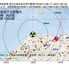 島根原子力発電所周辺の地殻変動と地震活動 (2017年09月16日現在)