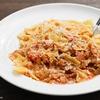 牛肉とキャベツのトマトソースファルファッレのレシピ