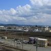 京都鉄道博物館からのJR(クレーン)/TRAIN SUITE 四季島