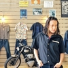 クッシュマンのコットンボーリングシャツは後ろ姿に惚れる。