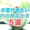 【この夏行きたい】都内の絶品!フワッフワのかき氷が食べられるお店5選☆