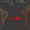 Blender 2.8 でメッシュを分割する