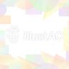 パステル調のカラフルな短形フレーム3a