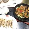 節制中飲食物摂取記録.麻婆茄子炸醤麺