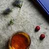 美しい琥珀色の紅茶