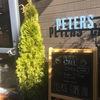 ピータースさんに新設のカフェ