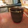 築地の「米花」で新さんま塩焼き、鶏と胡瓜の酢の物、茄子の揚げ浸し。