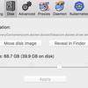 Docker For Mac の docker build で `no space left on device` した時の対策