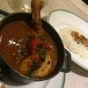 今日も、いただきます! ~鎌倉 Curry Club Cuillere 「骨付き鶏もも肉のバスク風カレー ~揚げ卵添え~
